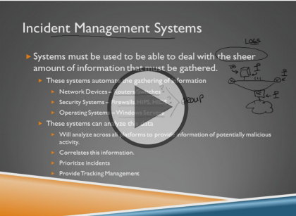 Certified Information Security Manager CISM, Part 4: Incident Management Trailer