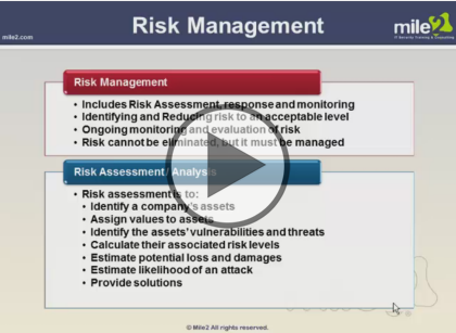 Certified Information Systems Security Professional, Part 1 of 9: Risk and Authentication