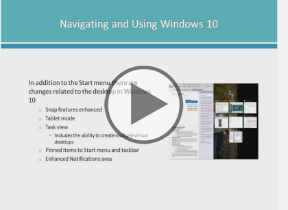 Configuring Windows Devices, Part 1 of 8: What is new in Windows 10 Trailer